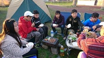 キャンプ第一日目夕食.JPG